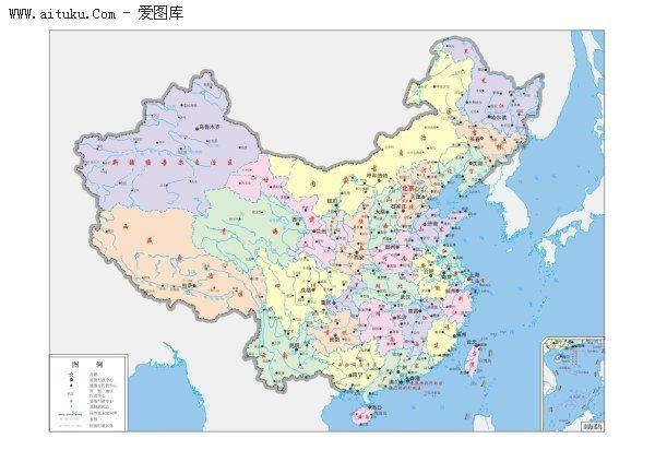 中国地图大图